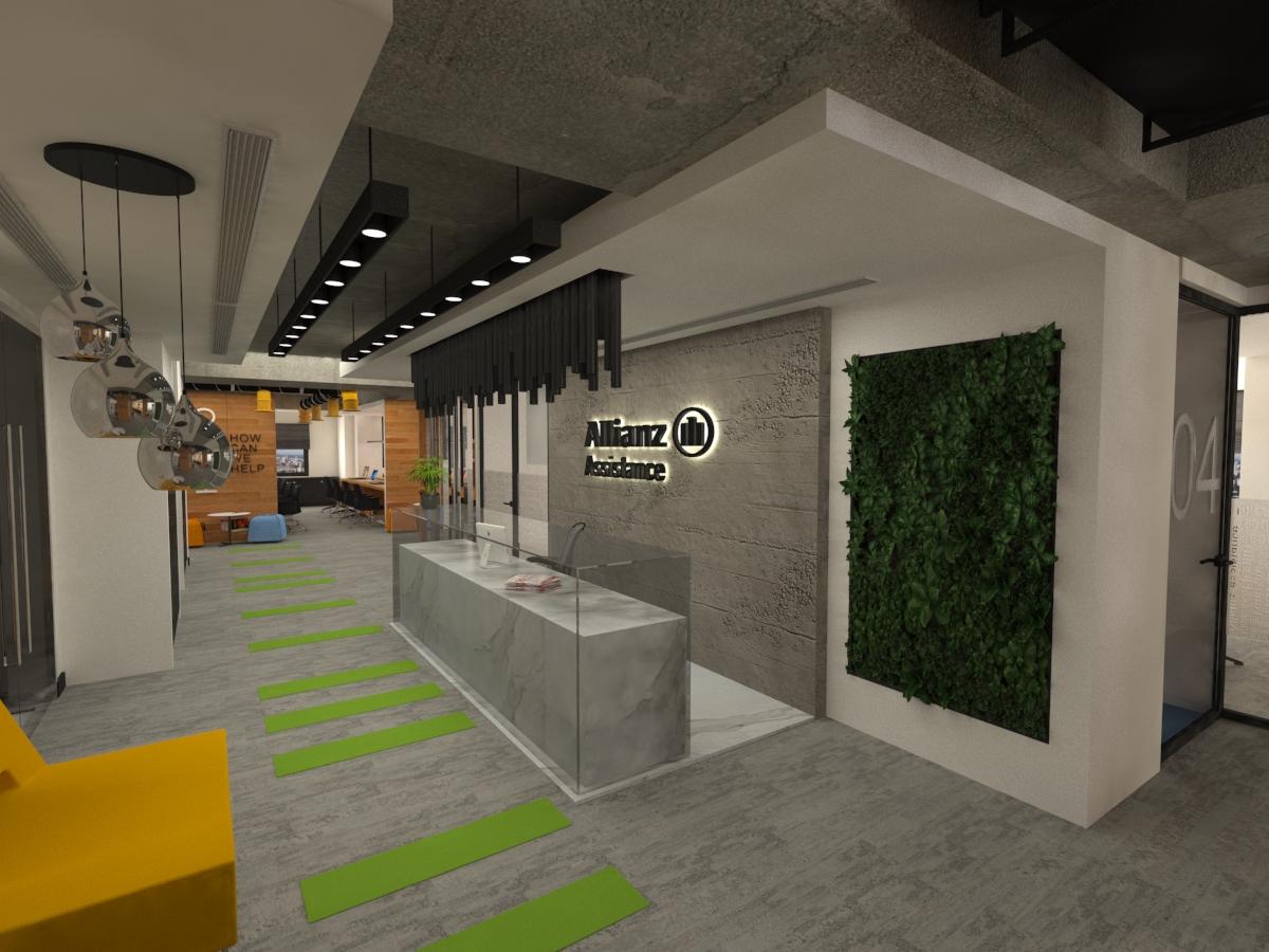 Allianz AWP Altunizade Ofis Projesi